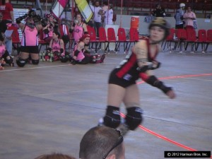 picture of skater for rollerderbytape.com