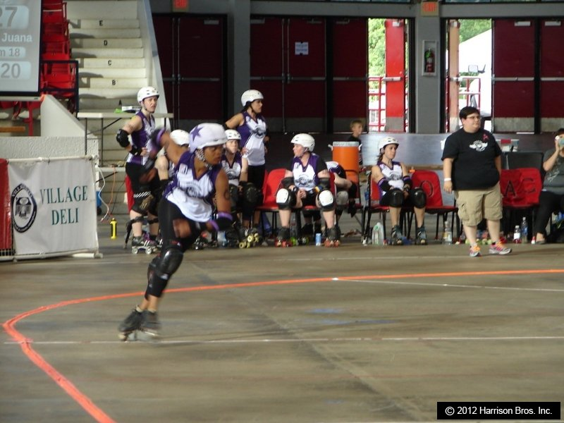 Texas Roller Derby-Ready To Take Off The Skates