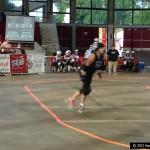 flat track roller derby skater